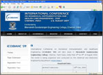 ICOBIAHC 2009 -  International Conference on Biomedical Instrumentation and Healthcare Engineering at Meenakshi Sundararajan Engineering College